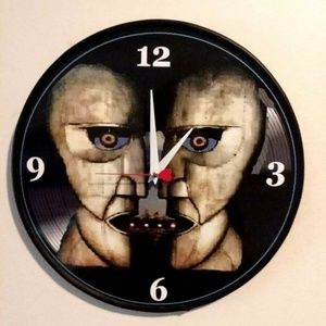 New Homemade Wall Art - PINK FLOYD - DIVISION BELL - 12IN WALL CLOCK NEW